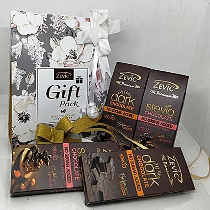 Zevic Assorted Stevia Chocolates: Friendship Day Chocolates
