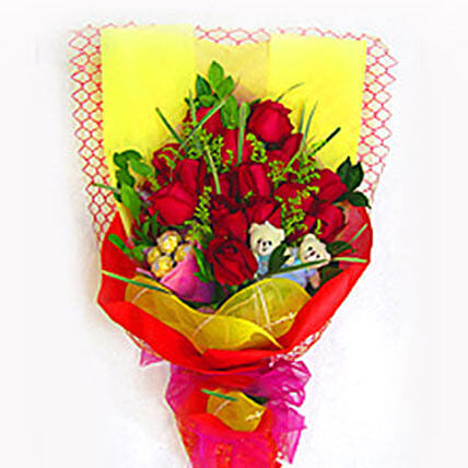 Charm and Elegance Bouquet: Gift Combos to Malaysia