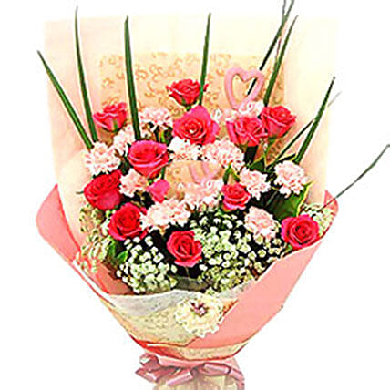 Love N Admiration Bouquet: Gift Combos to Malaysia
