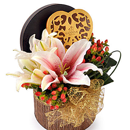 Godiva Heart Chocolate: Corporate Door Gift Malaysia