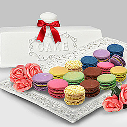 Assorted Macaroon Ville: Anniversary Cakes For Him in Malaysia