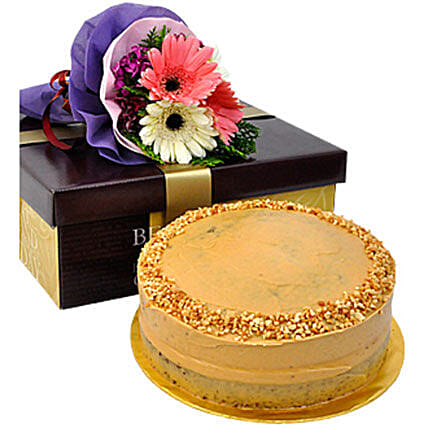 Banana Nutty Buttercream Delight Cake: Send Corporate Gifts to Malaysia