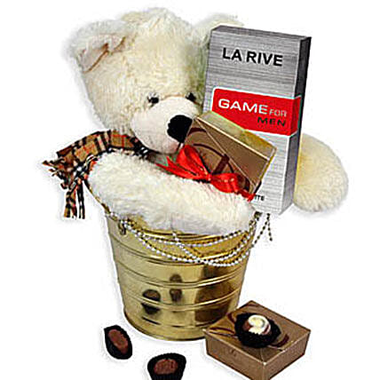 Bear With Perfume: Anniversary Gifts For Husband in Malaysia