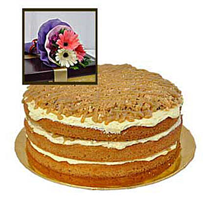 Caramel Butterscotch Cake: Cake Delivery in Kuala Lumpur
