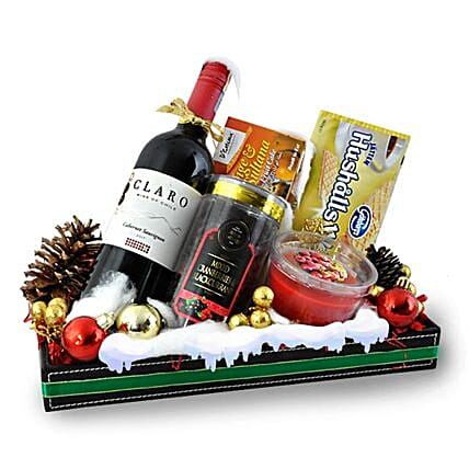 Ascara Christmas Wine Hamper: Christmas Gifts Delivery In Malaysia