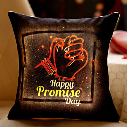 Keeping Promises LED Cushion: Send Promise Day Gifts to Malaysia