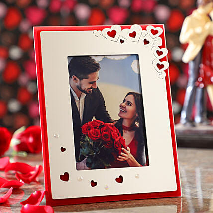 Hearty Personalised Photo Frame: Valentine Gift Shopping Malaysia