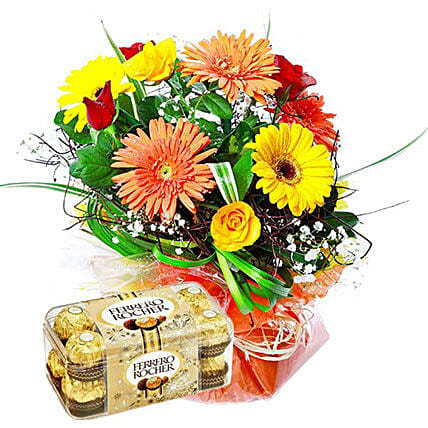 Colorful Sweet Extravaganza: Wedding Gift Delivery Mauritius