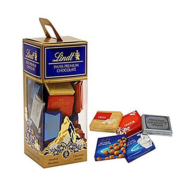 Lindt Premium Choco Box: Send Birthday Gifts to Mauritius