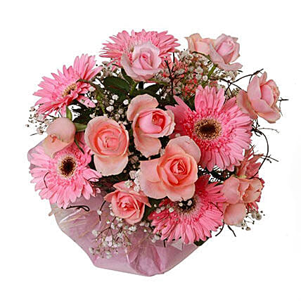 Pink Love: Send Mothers Day Flowers to Mauritius