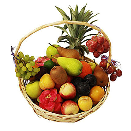 Seasonal Fruit Basket: Get Well Soon Gift Delivery Mauritius