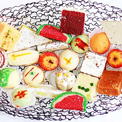 Sweet India Platter: Send Eid Gifts to Mauritius