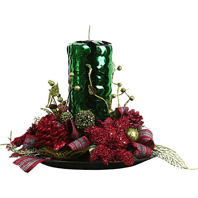 Merry Christmas Centerpiece: Send Flowers to Mexico