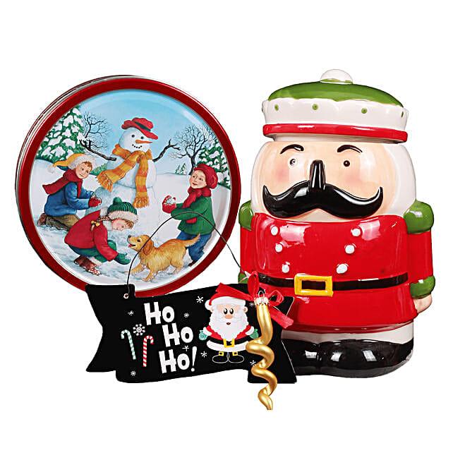 Nutcracker Cookie Jar Gift: Las Posadas Gifts in Mexico