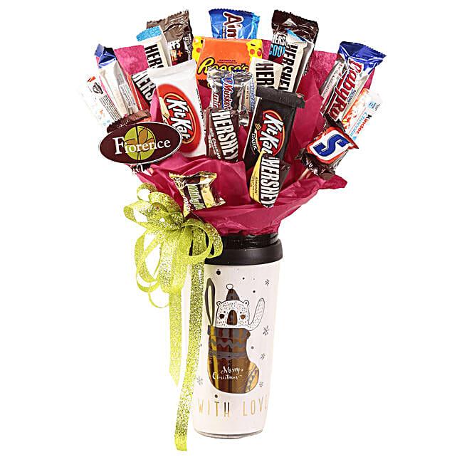 Special Christmas Chocolate Bouquet: Send Chocolates to Mexico