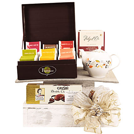 Deluxe Tea Gift Hamper:
