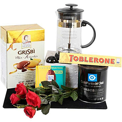 Coffee Lovers Hamper: Send Valentine's Day Gifts to Mexico