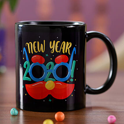 Quriky 2020 New Year Mug: Send Corporate Gifts to Papua New Guinea