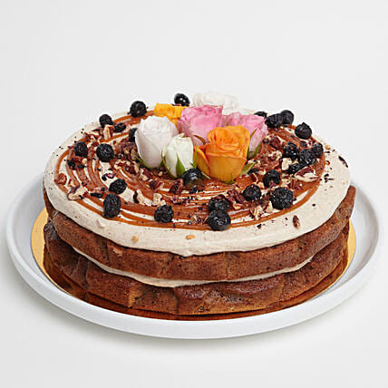 Yummy Carrot Pecan Cake: Valentine's Day Gifts to NZ