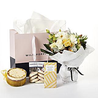 Flowers N Gourmet Treat Hamper
