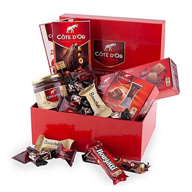 Cote Dor Chocolate Lover Box: