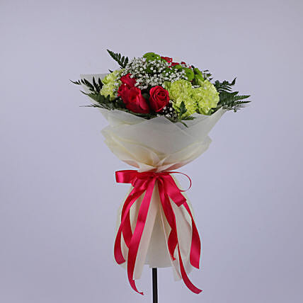 Fervent Floral Bouquet: Congratulations Flowers to Oman