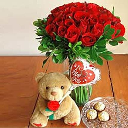 Valentine Day Gifts Flowers To Philippines Ferns N Petals