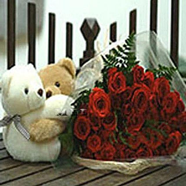 Two Dozen Twin Hearts: Valentine Flower Bouquets to Philippines