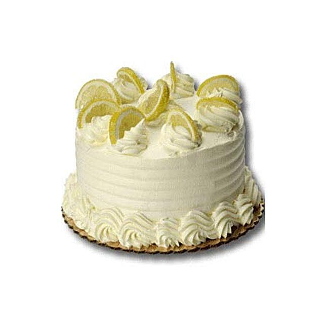 Zesty Lemon Cake: Christmas Cakes in Philippines