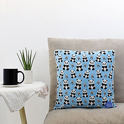 Baby Panda Printed Cushion: Send Fathers Day Gifts to Philippines
