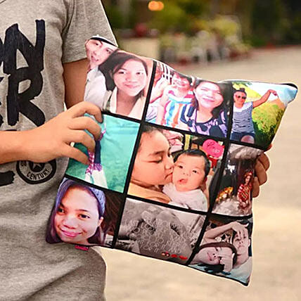 Memorable Personalized Throw Pillow: Send Fathers Day Gifts to Philippines