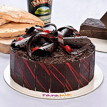 Delicious Choco Baileys Cake: Gifts to Davao City