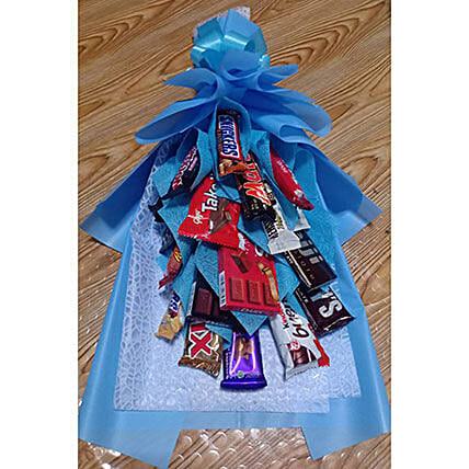 Yummy Chocolate Bouquet: Send Karwa Chauth Gifts to Philippines