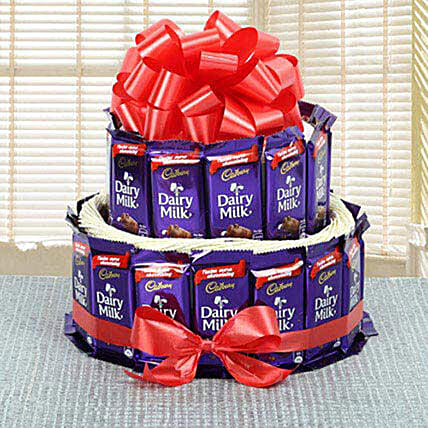 Classy Cadbury Arrangement: Same Day Gift Delivery to Philippines