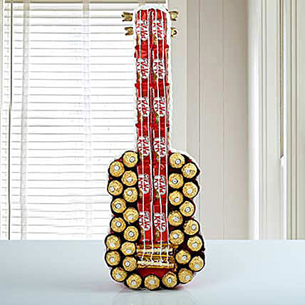 Guitar Of Chocolates: Same Day Gift Delivery to Philippines
