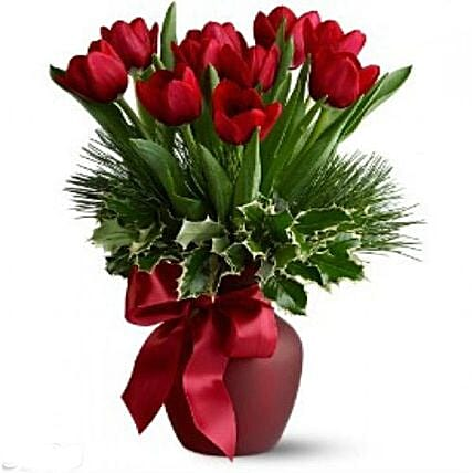 Christmas Tulips: Send Christmas Gifts to Philippines