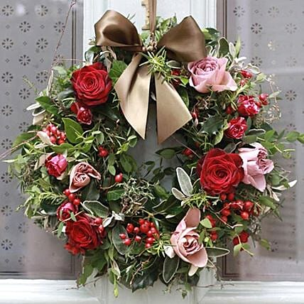Special Christmas Wreath: Christmas Gift Delivery Philippines