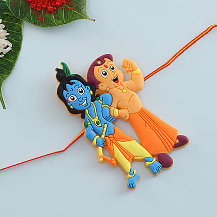 Chota Bheem Kirshna Kids Rakhi: Rakhi for Kids in Poland