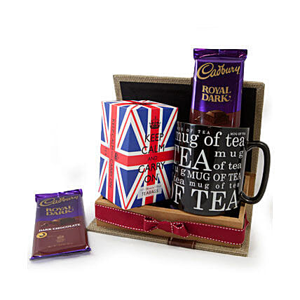 Keep Calm Tea Set: Send Easter Gifts to Qatar