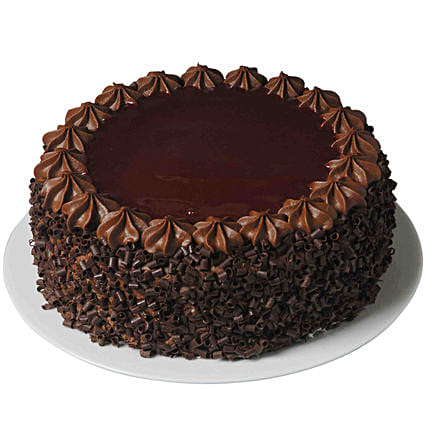 Luscious Chocolate Cake: Send Anniversary Cakes to Qatar