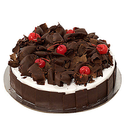 Delectable Black Forest Cake QT: New Arrival Gifts Qatar