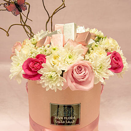 Flowers And Chocolates Wonderland Love: Valentine's Day Gift Delivery in Qatar