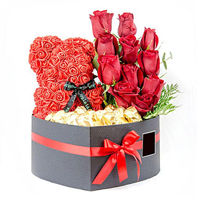 Eternal Love Combo: Send Forever Roses to Qatar