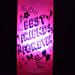 Best Friends Forever Lamp-best friends forever pink coloured bottle lamp