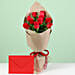 Flower with Paper Wrap and Greeting Online