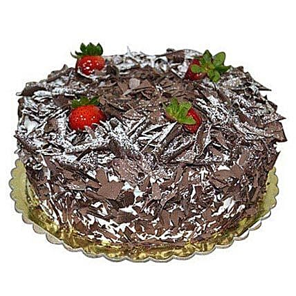 1 Kg Blackforest Cake: Send Mothers Day Cakes to Saudi Arabia