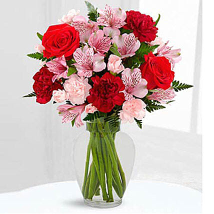 Love In Bloom Bouquet: Same Day Gift Delivery in Saudi Arabia