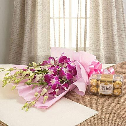 Orchids N Chocolates: Flower Delivery in Mecca
