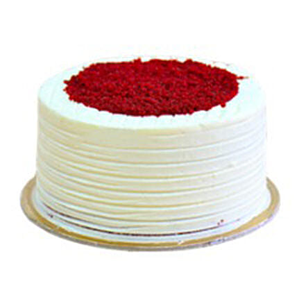 Red Velvet Cake 1kg: Send Christmas Cakes to Saudi Arabia