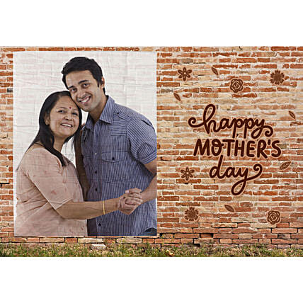 Mother Day Personalised Billboard E Poster: Mother's Day Gifts to Saudi Arabia